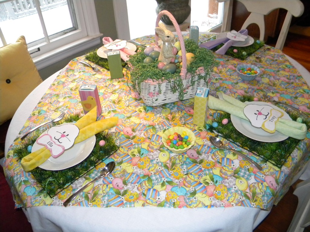 Children's table overview