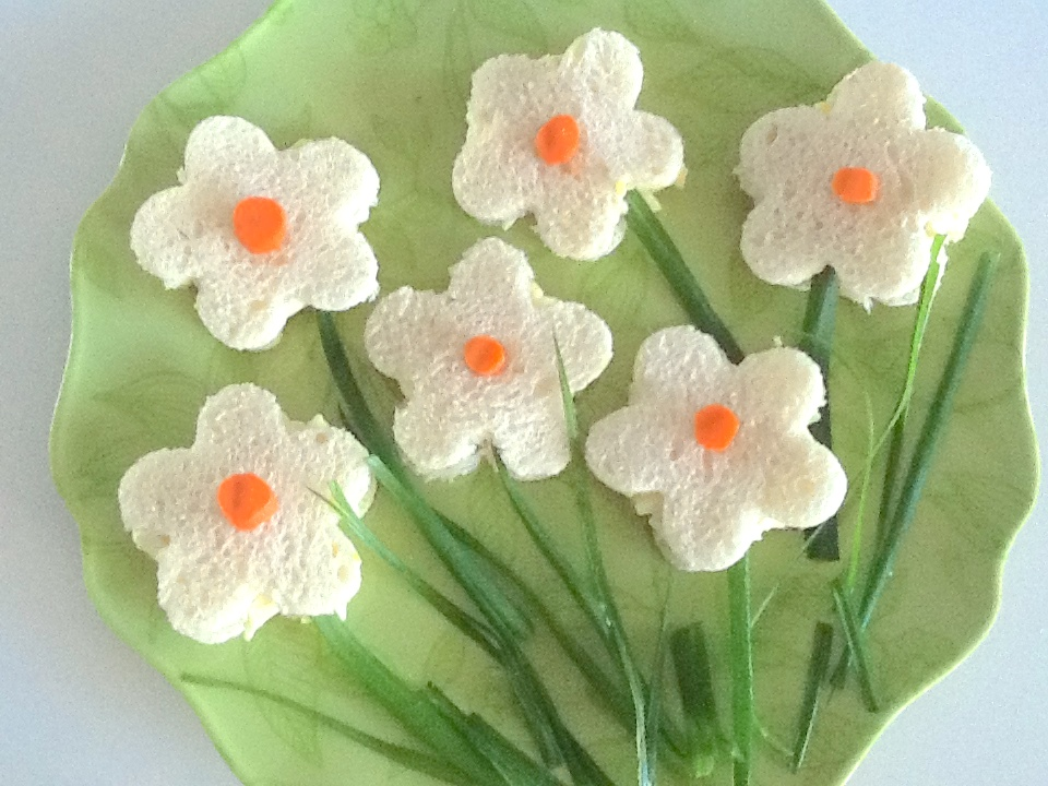 Flower sandwiches 1