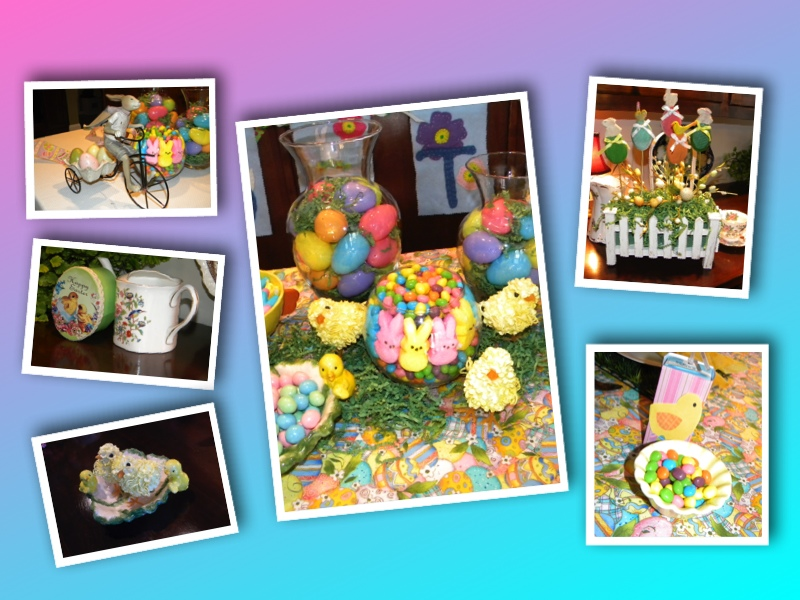 Kids Easter Collage
