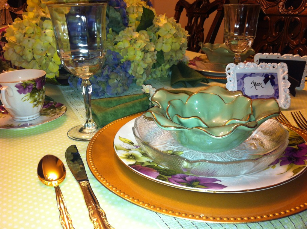 Place setting - Mom 3