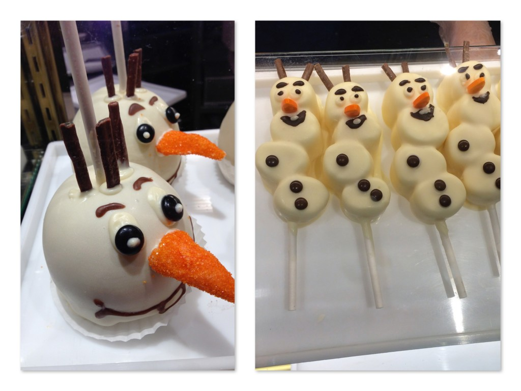 Olaf apple:marshmallow