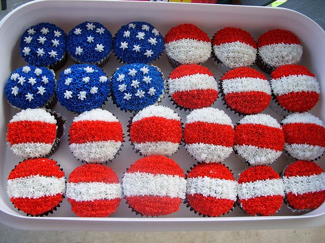 Cupcake Flag https://www.flickr.com/photos/13583357@N06/3706374788/