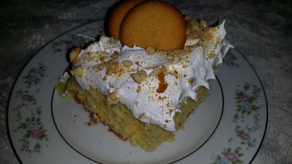 Banana cake 5