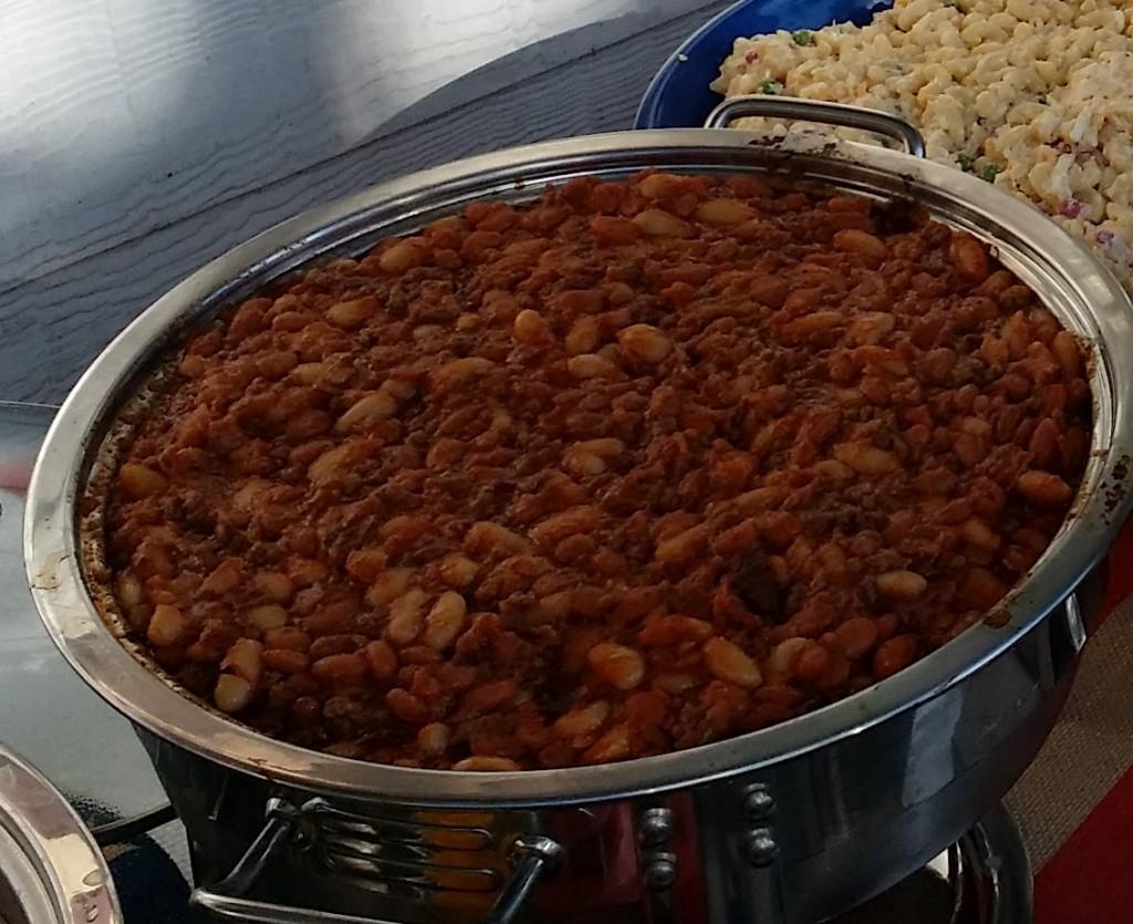 Cheryl's baked beans
