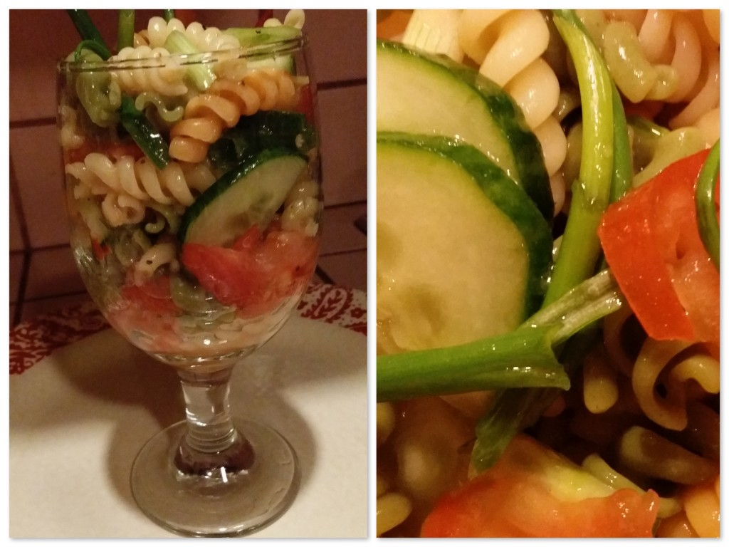 Dawn's salad collage