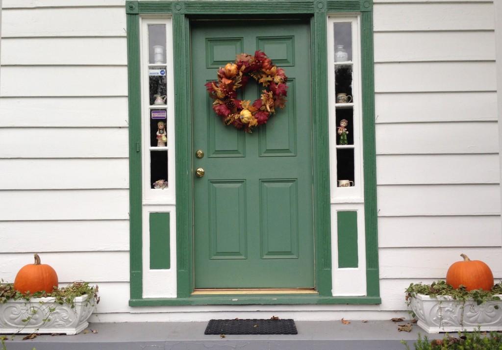 Front door - fall