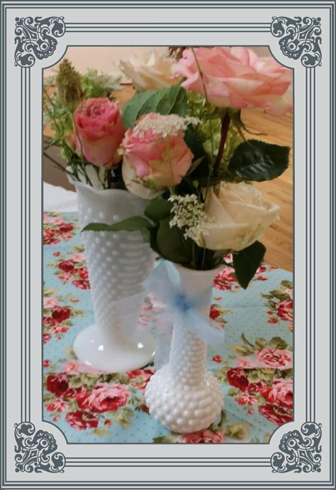 Vases closeup