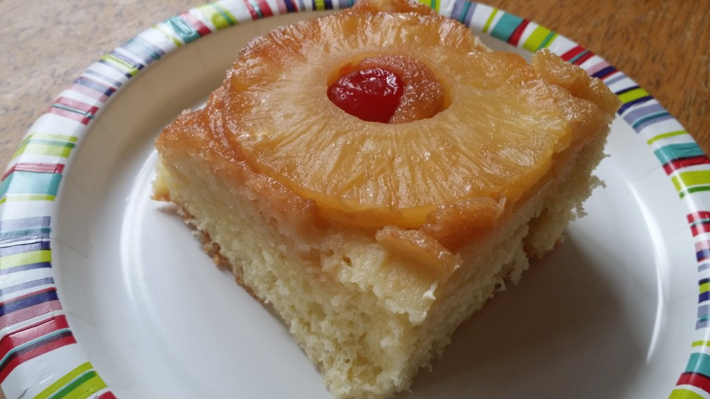 Country Pineapple Upside Down Cake