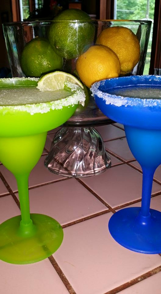 Non-alcoholic Margarita punch