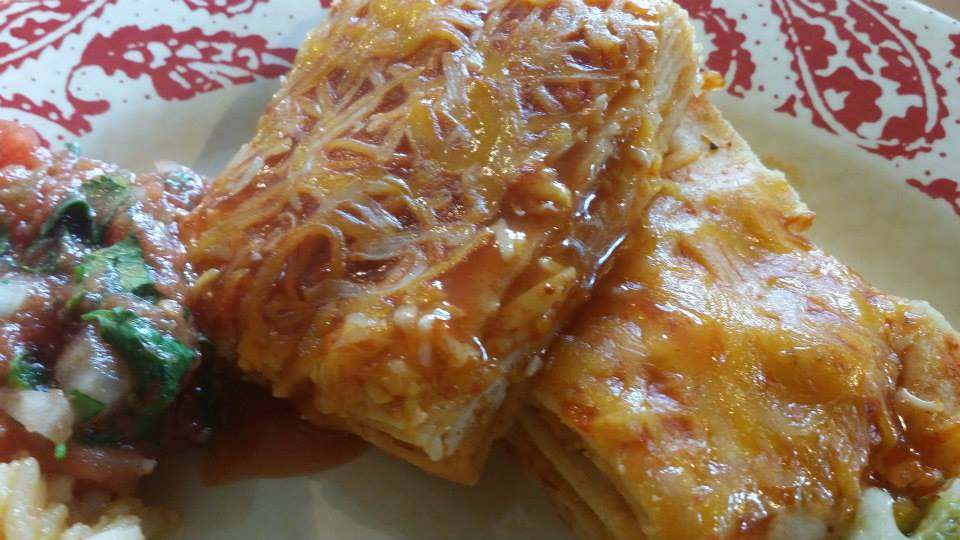 Red Enchilada Casserole