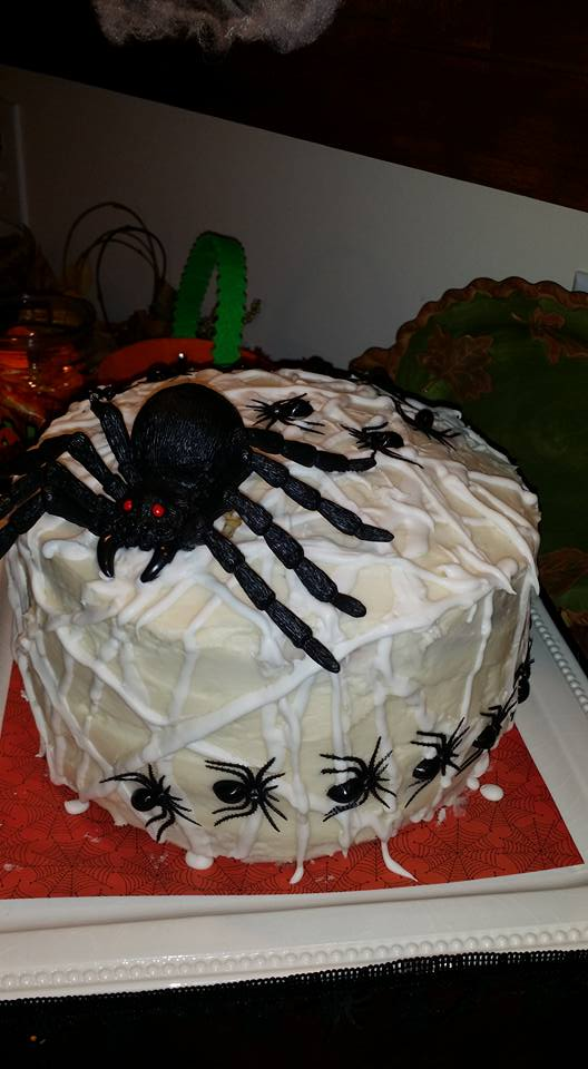 Creepy Crawly Chocolate Cake!
