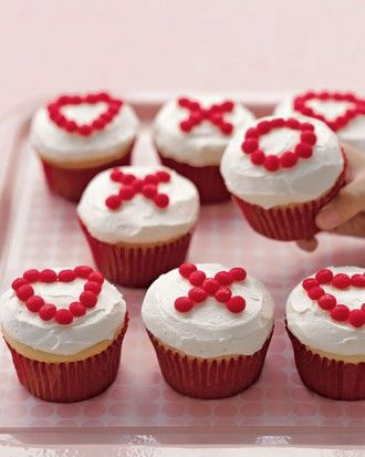 Red Hots cupcake