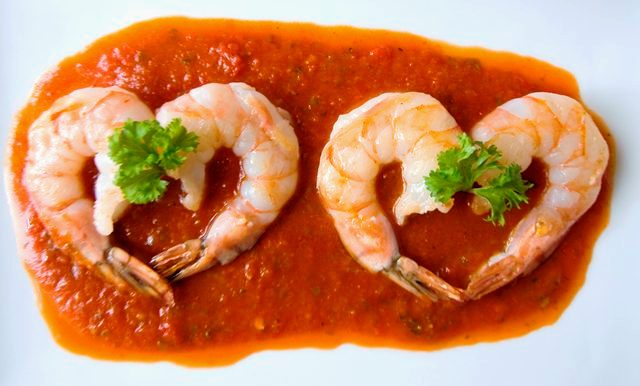 Valentine's Day Shrimp Appetizer