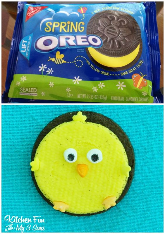 Oreo chick cookies