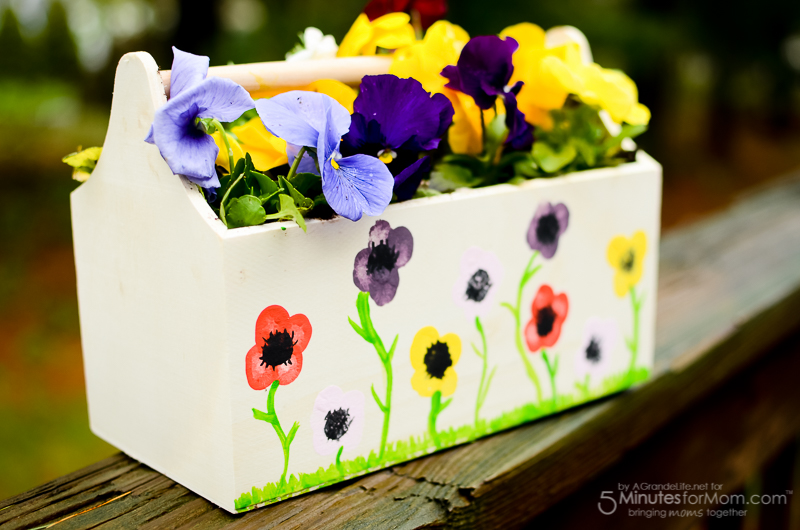 Thumbprint planter
